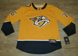Fanatics Nashville Predators P.K. Subban #76 Breakaway Hockey Jersey Men Medium