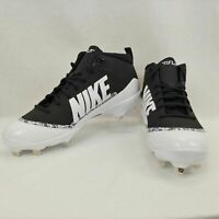 New Men's Nike Force 917920 001 Air Trout 4 Pro Metal Mid Baseball Cleats $85 13