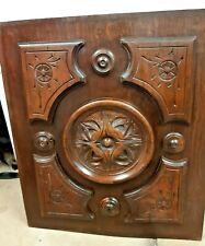 Antique Carved Wooden Panel