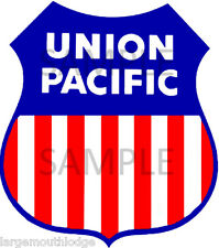 """Union Pacific 2"""" Waterslide Decal Other Sizes Available"""