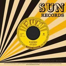 "ELVIS PRESLEY - MY HAPPINESS  7"" VINYL SUN RECORDS  THIRD MAN NEW  MINT"