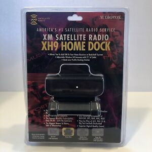 XM Satellite Radio AudioVox Xpress Complete Installation Home Kit XM XH9 SEALED
