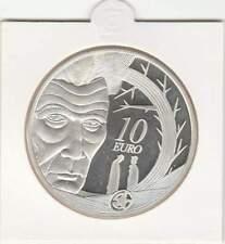 Ierland 10 euro 2006 proof zilver PP: Samuel Beckett
