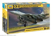 Zvezda 4824 1/48 Russian Fifth-Generation Fighter SU-57 Model Kit
