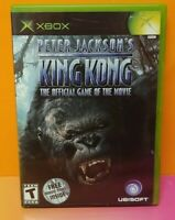 Peter Jackson's King Kong Microsoft XBOX OG Game  1 Owner Mint Disc Bought New !