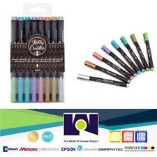 Kelly Creates Metallic Jewel Brush Pens 8/Pkg 349300