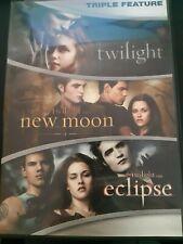 Twilight Triple Feature: Twilight, New Moon, Eclipse (DVD)