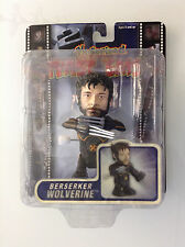 "MARVEL TWIST 'EMS BERSERKER WOLVERINE MOTORIZED FIGURE 4"" TOYBIZ RARE NEW(NOW 12"