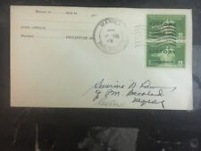 1945 Manila Us Philippines Cover Victory Stamps