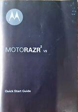 Motorazr2 V9 Quick Start Guide