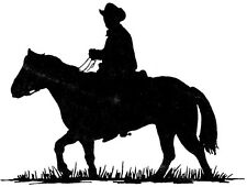 Unmounted Rubber Stamps, Horse, Horses, Equestrian, Cowboy Stamps, Western Stamp