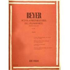 BEYER F. - SCUOLA PREPARATORIA DEL PIANOFORTE OP. 101 ER104