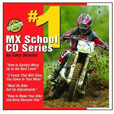 Motocross MX School CD #1 by Gary Semics (this is not a DVD)