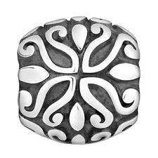 Lovelinks Bead Sterling Silver, Dots & Curls Design Fashion Charm Jewelry TT311