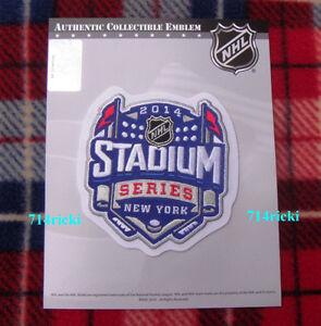 Official 2014 Stadium Series Patch New York Rangers Islanders New Jersey Devils