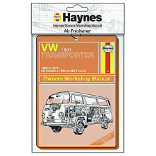 Haynes VW Camper Van Air Freshener - orange