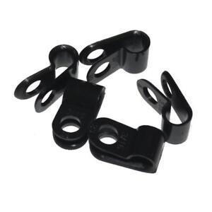 100x P-Clip für Kabel 5mm schwarz Nylon Kabelschelle Kabelfixierung Chassisklemm