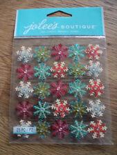 Ek Success Jolee's Boutique Flocon De Neige Mini Répète Stickers Entièrement neuf sous emballage