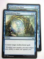 MTG Magic Cards: Fates Reforged: NEUTRALIZING BLAST x2 # E95