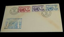 Vintage Cover,MANILA,PHILIPPINES, FDC, UNITED NATIONS,1947, Creation Of UN-ECAFE