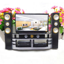 Hot Mini House Furniture Hi-Fi 1:6 TV Home Theater Set For Barbie Doll Accessory