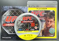 "PS 3 Playstation 3 Spiel "" UFC 2009 UNDISPUTED - USK 18 "" KOMPLETT"