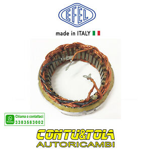 STATORE ALTERNATORE FIAT 850 SPORT COUPE' SPYDER 124 125 241   74995281    07040