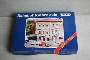 Pola Bausatz Meister Modell Bahnhof Rothenstein 207 N OVP