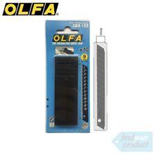 OLFA ABB-10B ULTRA SHARP BLACK 9MM BLADES - 50PK (HOBBY/UTILITY KNIFE)
