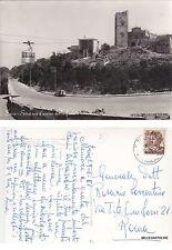 # TRAPANI - ERICE: STAZIONE ARRIVO DELLA FUNIVIA   1966