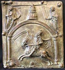 Roi Salomon Israël Bronze San Zeno Vérone Italie 46cm par 42 cm Reproduction