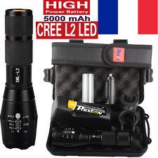 X800 shadowhawk 8000LM Cree L2 LED Militaires lampe de poche la tactique torche
