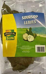 Tropical Sun Soursop Leaves / Guanabana leaves /Graviola  leaves Dried