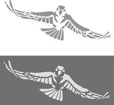 Schablone, Wandschablone, Wanddekoration, Malerschablonen,  fliegender Adler XL