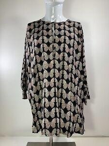 NEW Gucci Silk Top 3/4 Sleeve Butterflies Butterfly Mens Gucci Size 38 / 15