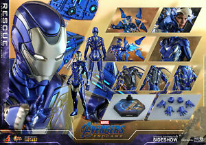 Hot Toys Marvel Avengers Endgame Rescue Diecast Sixth Scale Figure MMS538 New