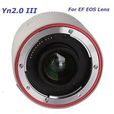 YN2.0X III Teleconverter Auto Focus Mount Lens for Canon EOS EF Lens DSLR Camera