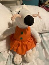 MAISY MOUSE Orange Dress 12 Inches Tall