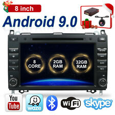 32GB Android 9.0 Car Stereo Radio GPS Sat Nav DAB+ for Mercedes-Benz W169 W245