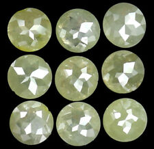 Natural Loose Diamond Grey Color Round Rose Cut I3 Clarity 9 Pcs 1.85 Ct L5488