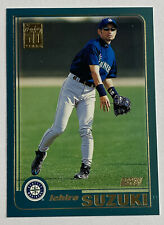 2001 Topps Ichiro Suzuki Rookie #726