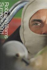 ROBBIE WILLIAMS  SUMMER CONCERT TOUR PROGRAMME - EPOSN SPONSORED (2001)