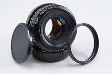 **GREAT** Pentax SMC A 50mm f1.7 MF Prime Lens for K Mount 35mm SLR Film Cameras