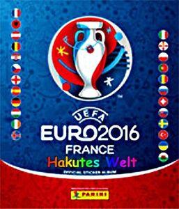 Panini Euro 2016 16 France Sonder- und Glitzersticker Wappen Logo Team Auswahl