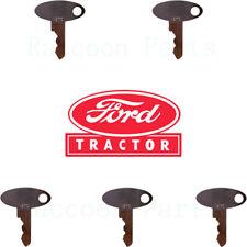 5 Ford Tractor Keys 1920 1925 2120 3415 Tc25 29 30 33 35 L 465 554 565 Ls140 150