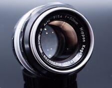 Nikon Nippon Kogaku NIKKOR-S Auto 50mm f/1.4 Non-Ai Fix Prime MF for Nikon