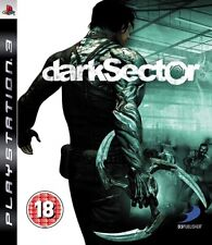 Dark Sector (PS3, 2008) Region Free Disc Mint Shooter Brand New Case J2L