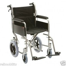 Enigma Lightweight Aluminium Folding Transit Wheelchair