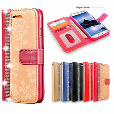 Luxury Flip Wallet Card Holder Magnetic Leather Case Cover For Various Phones