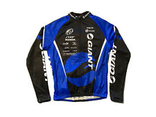 Cycling Jersey (Small) and Bib Pants (Med) Cold Weather Fleece Lined Blue Black